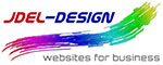 Jdel-Design Mobile Logo